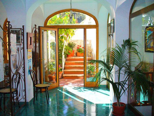 positano accommodation: Villaverde
